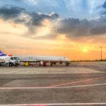 Аэропорт Тирана  в городе Тирана  в Албании