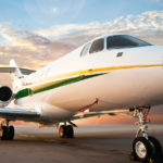 The cost of the flight on a private jet